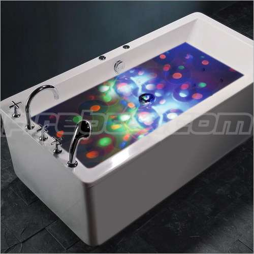LED Bathtubs: The Underwater Disco Light Show