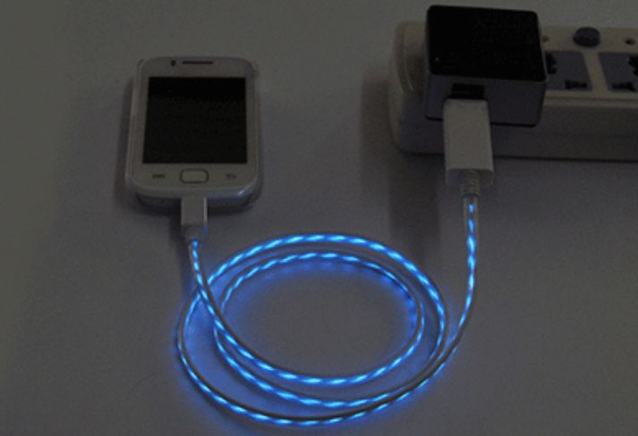 Animated Charging Cables
