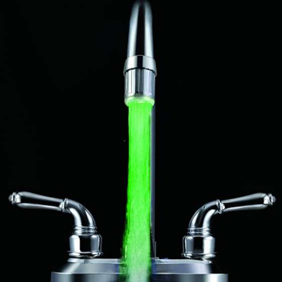 Thermometric LED Faucets