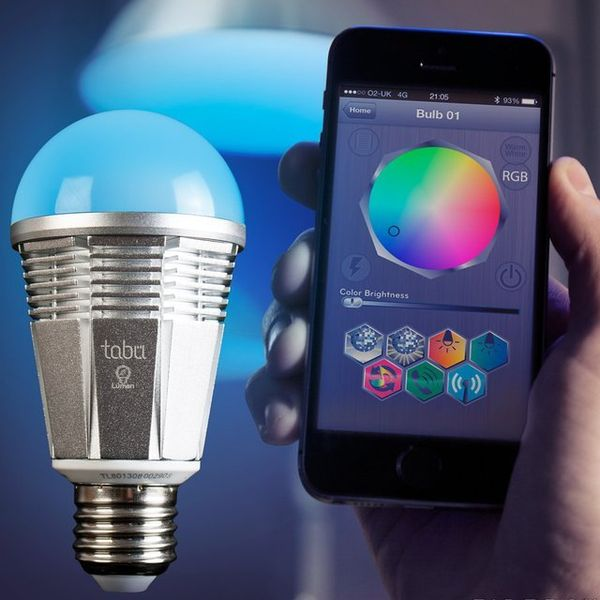 Smartphone-Controlled Lightbulbs