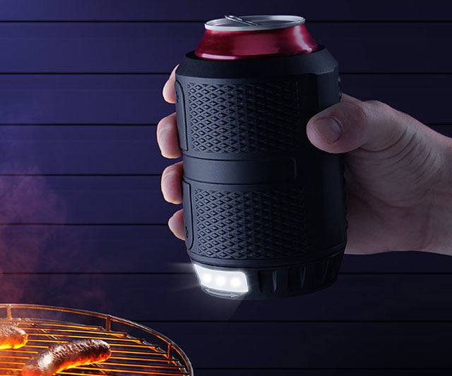 Flashlight Beer Holders