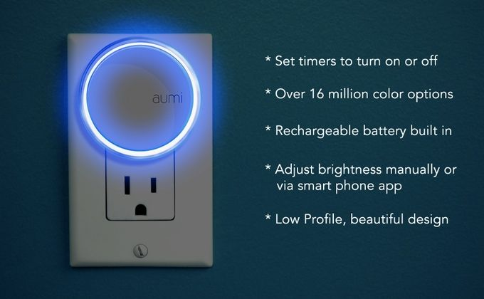 App-Controlled Night Lights