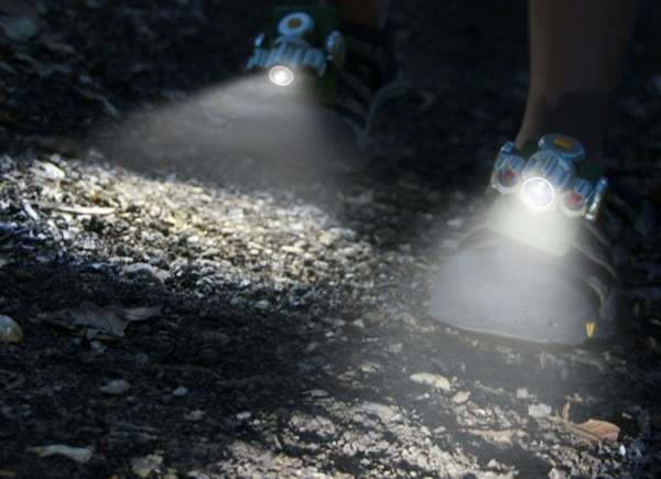Clip-On Footwear Flashlights