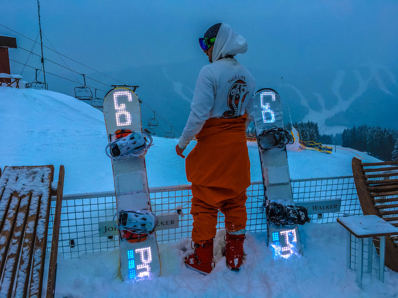 LED Snowboard Accessories