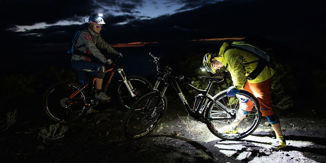 Blazing Mountain Biking Headlamps