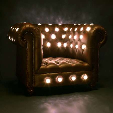 Luxurious Illuminated Furniture