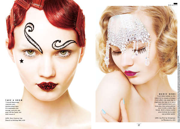 Embellished Cosmetic Captures