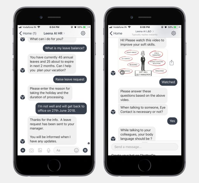 AI-Powered HR Chatbots