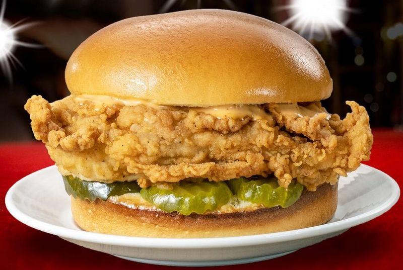 Honey-Dipped Chicken Sandwiches