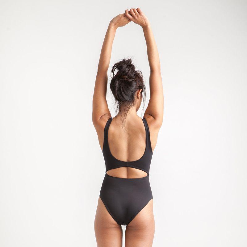 Minimalist Sporty Swimwear