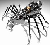 Leg Spines = Super Spider Robots