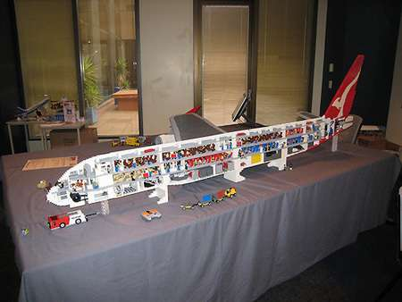 Touch-Controlled Lego Planes