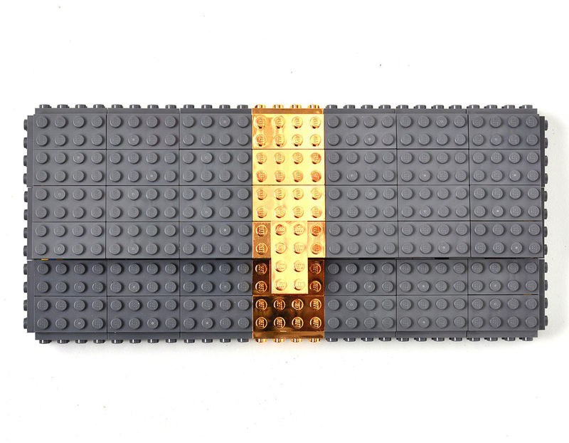 Gold-Plated LEGO Accessories