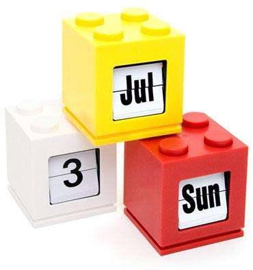 Lego Brick Calendars