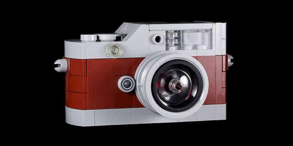 LEGO Camera Replicas