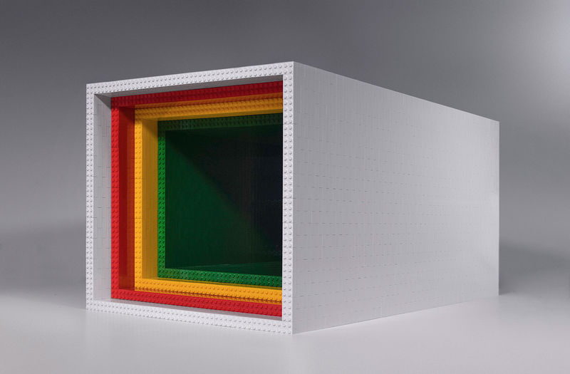 Architecturally-Informed LEGO Coffee Tables