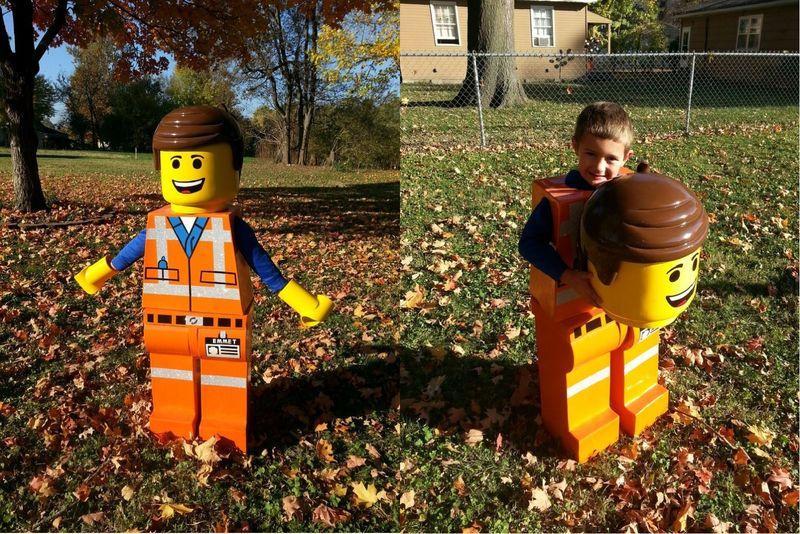Lifesized LEGO Costumes & Lifesized LEGO Costumes : lego costume