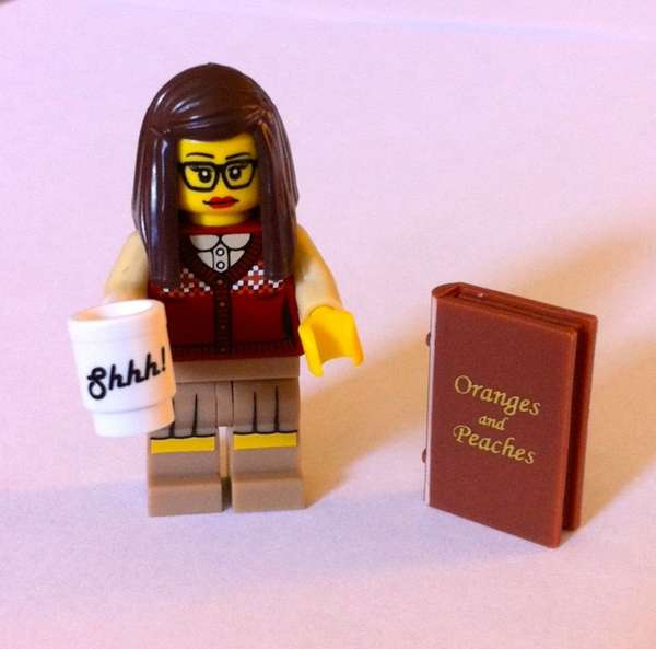 Stereotypical LEGO Librarians