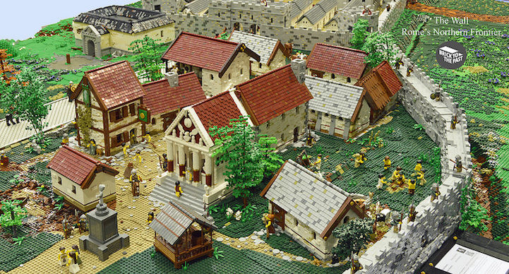Historical LEGO Displays