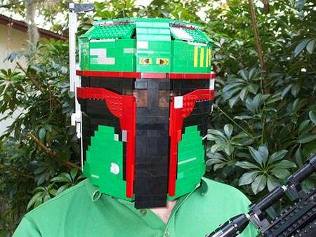 Costumes Made of Lego & Costumes Made of Lego: Homemade Boba Fett Suit