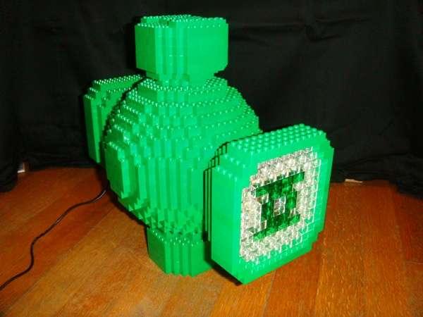 Brick Superhero Lights