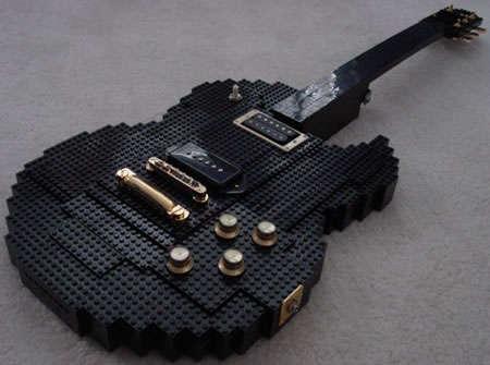 LEGO-Made Guitars