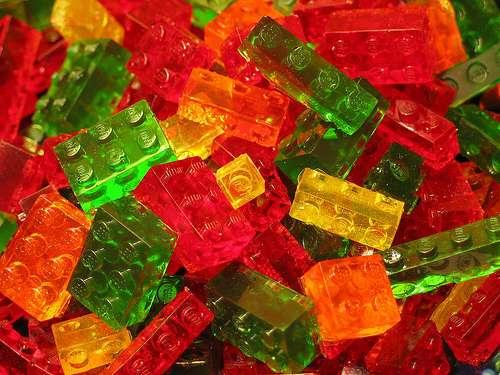 DIY Edible LEGO