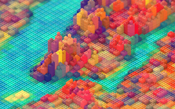 Toy Block Topography