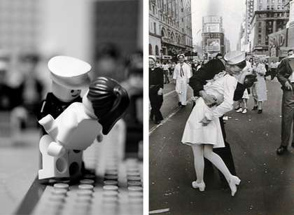 Photo Journalism in LEGO