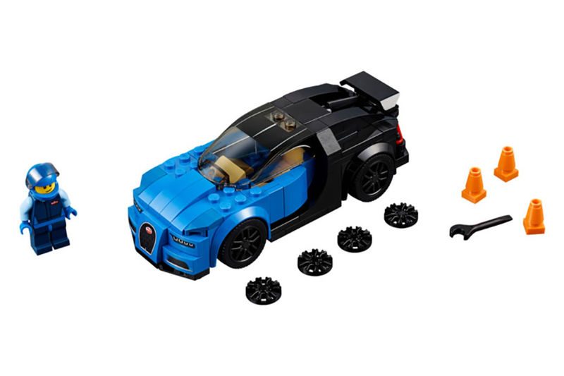 Detailed LEGO Race Cars