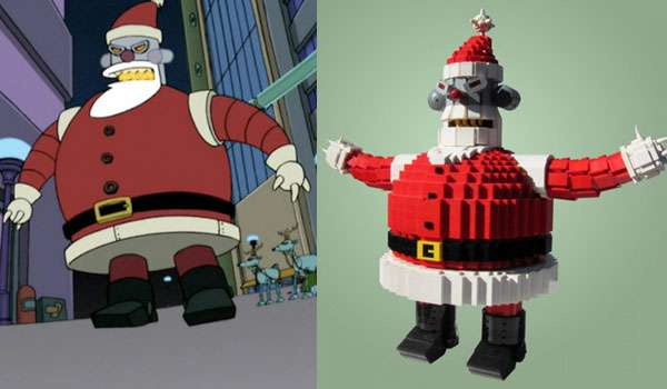 Evil Santa Toys