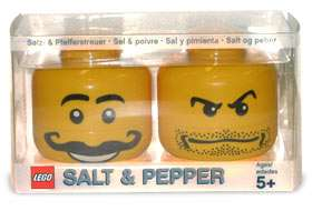 LEGO Salt and Pepper Shaker Set