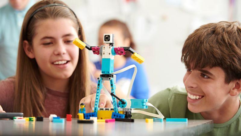 Classroom-Ready Building Block Robots