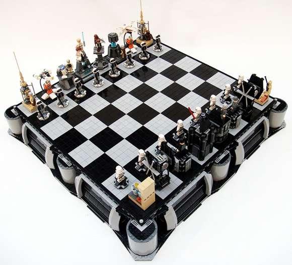 Nerdy Chess Sets