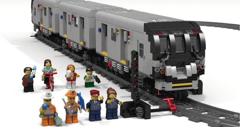 LEGO-Recreated Subway Systems