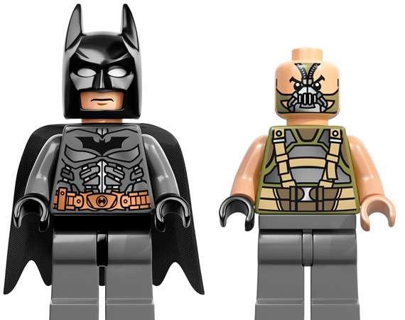Block-Made Batman Figurines