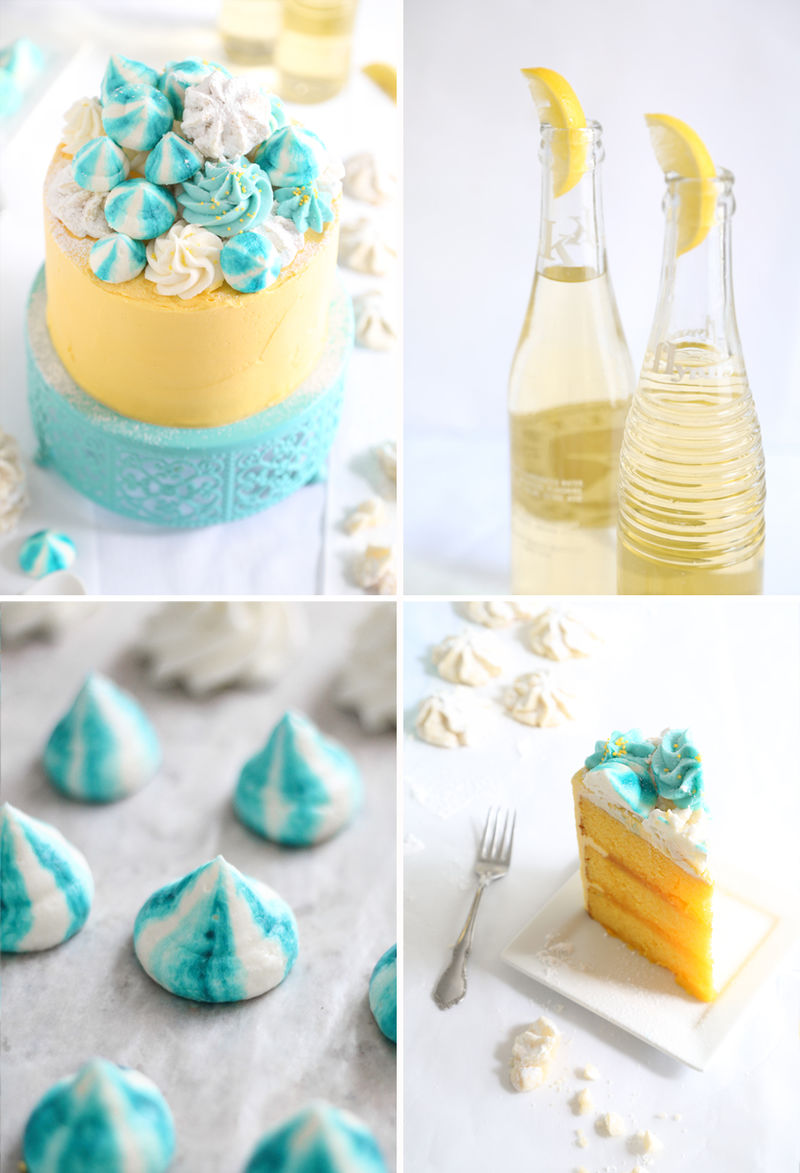 Seashell-Adorned Cakes