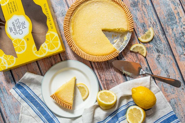 Shortbread Crust Lemon Pies