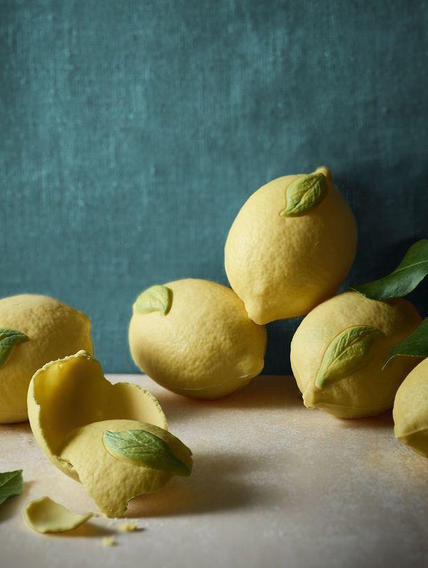 Lemon-Shaped Chocolates