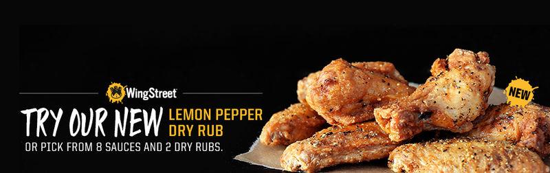 Dry Rub Chicken Wings Lemon Pepper