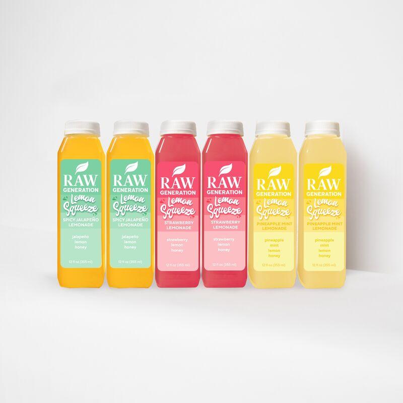 Gut Health-Supporting Lemon Beverages