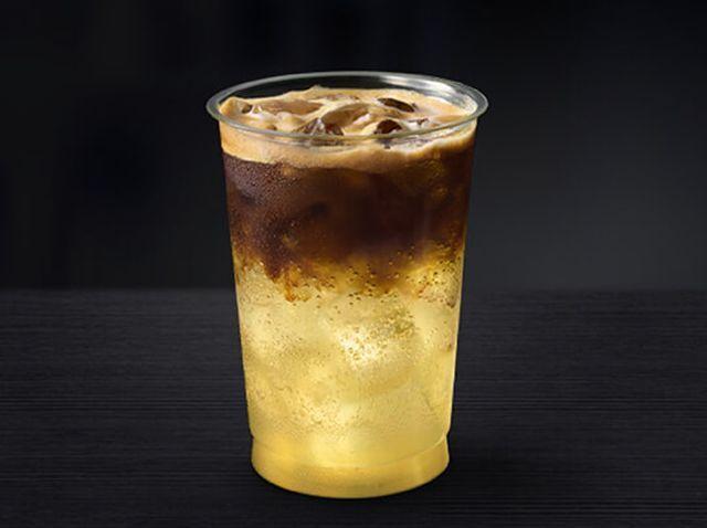 Espresso-Topped Lemonades