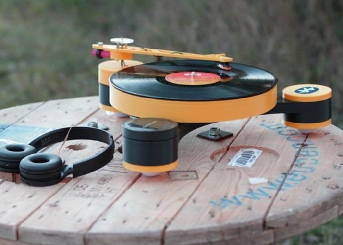 Modular 3D-Printed Record Players