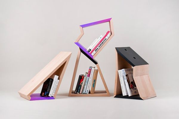 Sharply Angular Shelving