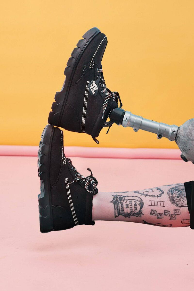 Low-Impact Chunky Boots