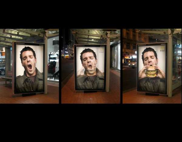 Animated Bus Stop Billboards