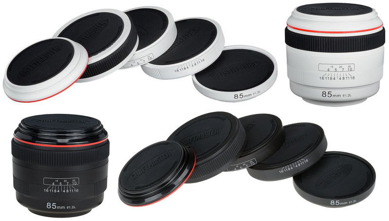 Camera Lens-Inspired Drink Coasters
