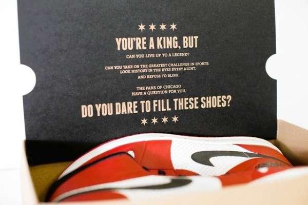 NBA Shoebox Dares