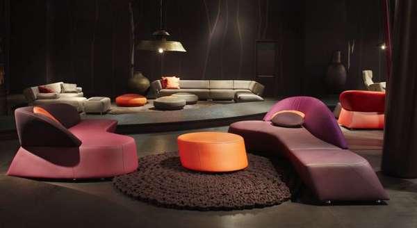 Chroma-Futuristic Furniture