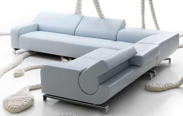 Shape Shifting Chesterfields The Leolux B Flat Sofa